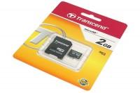MEMORY CARD Transcend microSD Kit 2GB