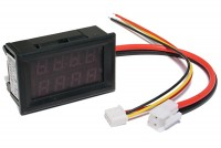 PANEL VOLTAGE/CURRENT METER 0-200V 0-10A