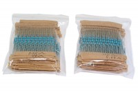 RESISTOR KIT 1/4W 64 VALUES (640pcs)