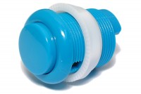 ARCADE PUSH BUTTON BLUE