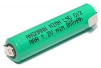 AAA-AKKU NiMH 800mAh Ansmann maxE
