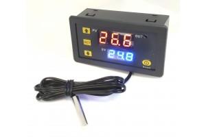 Ohjelmoitava termostaatti 12V 20A -55-+120 C