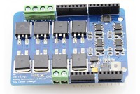 ARDUINO SHIELD 2-CH H-Bridge (8A 22V)
