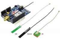 ARDUINO SHIELD SIM808 GPRS/GSM+GPS+BT