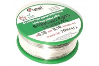 LEAD-FREE SOLDER WIRE 0,38mm 100g