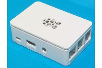 RASPBERRY PI 3B+ ENCLOSURE WHITE
