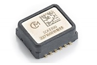 SCA3300-D01 3-axis Accelerometer with digital SPI interface