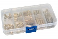 SPACER SCREW KIT M2,5 120-pcs metal