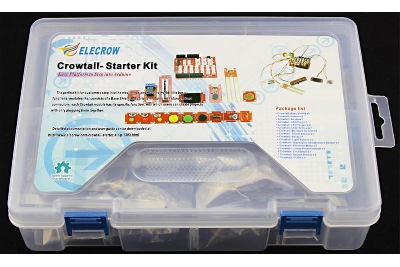 Crowtail Starter Kit for Arduino - PARTCO verkkokauppa