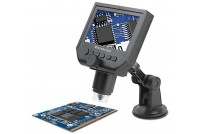 "Digital Portable 600X Microscope with 4.3"" Display"