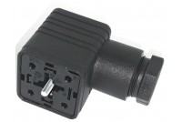 Valve connector 4-pin female 18mm FORM A