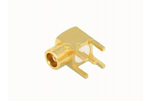 MCX(F) R/A Jack PCB 3,9mm leg bulk
