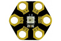 Kitronik ZIP Hex LED, pack of 5 (WS2812)