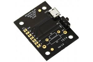 Kitronik Micro USB Breakout Board, with Power Switch