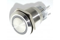 PUSH-BUTTON SWITCH WITH GREEN LED