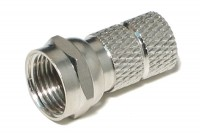 F CONNECTOR FOR Ø6,5mm CABLE