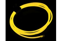 Neon Light EL Wire 1000mmx2.3mm Yellow