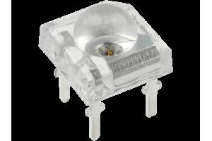 LED 7,62x7,62mm PUNAINEN 14000mcd 120ast