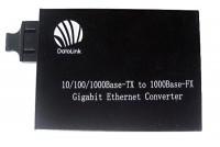 10/100/1000M, DUAL FIBER, FIBER MEDIA CONVERTER