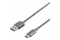 USB-2.0 CABLE A-MALE / C-MALE 1m