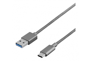 USB-2.0 KAAPELI A-UROS / C-UROS 1m