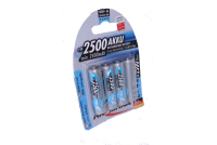 READY-TO-USE AA-BATTERY NiMH 1,2V 2500mAh 4pcs