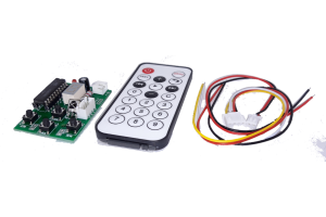 STEPPER MOTOR CONTROLLER WITH REMOTE