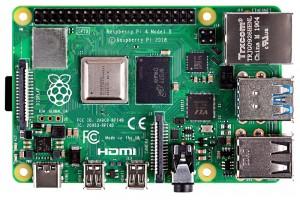 Raspberry Pi 4 Model B 64-bit QuadCore+4GB