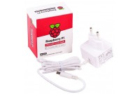 RASPBERRY PI4 POWER, 5.1V 3A, WHITE