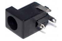 DC-RUNKOLIITIN 3,1/5,5mm PCB +KYTKIN