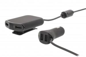 AUTOLATURI NELJÄLLE USB-LAITTEELLE 3,4A 5V