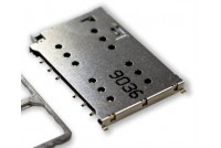 Nano SIM Socket, Dual Card, Tray Eject type
