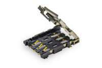 Nano SIM socket, Hinge Type, 6 Pin