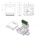 DIN RAIL TYPE OPTIC TERMINAL BOX 80*80*29mm