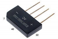 DIODE BRIDGE 5A 500Vrms