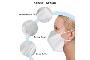 N95 PROTECTIVE FACE MASK, CE/FDA-certified