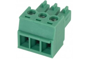 PLUGABLE TERMINAL BLOCK 3X 1,5MM2 R3,81