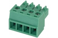 PLUGABLE TERMINAL BLOCK 4X 1,5MM2 R3,81