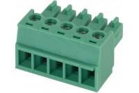 PLUGABLE TERMINAL BLOCK 5X 1,5MM2 R3,81