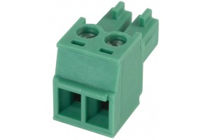 PLUGABLE TERMINAL BLOCK 2X 1,5MM2 R3,81