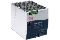 DIN-KISKOHAKKURI 960W 48VDC 20A 1-VAIHE