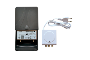 MASTHEAD ANTENNA AMPLIFIER WITH 4G-LTE FILTERING (UHF)