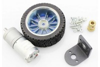 DC-MOTOR 6V WITH GEAR AND WHEEL SET