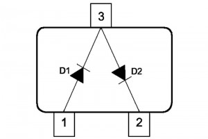 SCHOTTKY DIODE DUAL 0,2A 30V SOT23