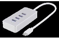USB-C-HUB C-UROS / 4X A-NAARAS