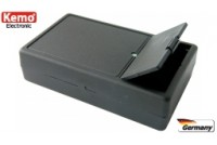 PLASTIC ENCLOSURE 102x61x26mm black