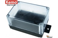 PLASTIC ENCLOSURE 72x50x40 transparent