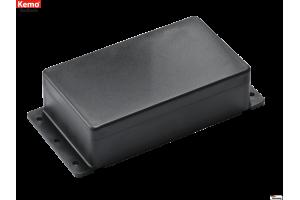 PLASTIC ENCLOSURE 120x70x35mm black