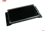 PLASTIC ENCLOSURE 120x70x15mm transparent