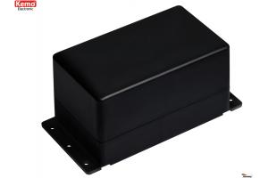 PLASTIC ENCLOSURE 122x72x66mm black